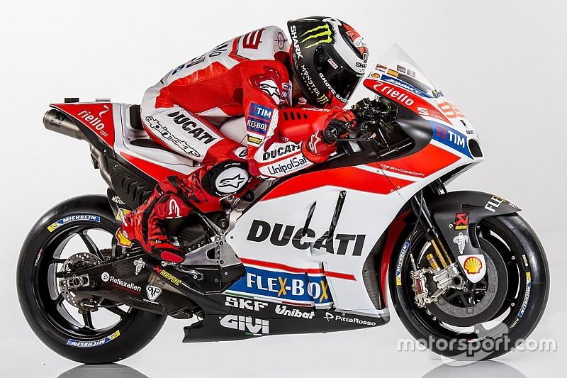 Photos - La livrée 2017 de la Ducati Desmosedici
