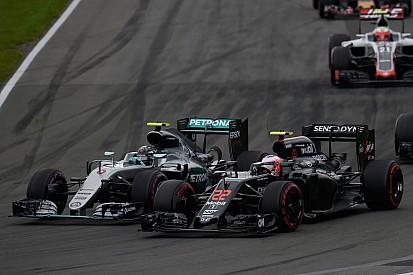 """Button: """"Será complicado que alguien alcance a Mercedes"""""""