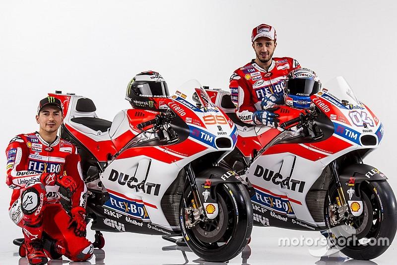 """À la découverte du """"frein à main"""" de Dovizioso sur la Ducati GP17"""