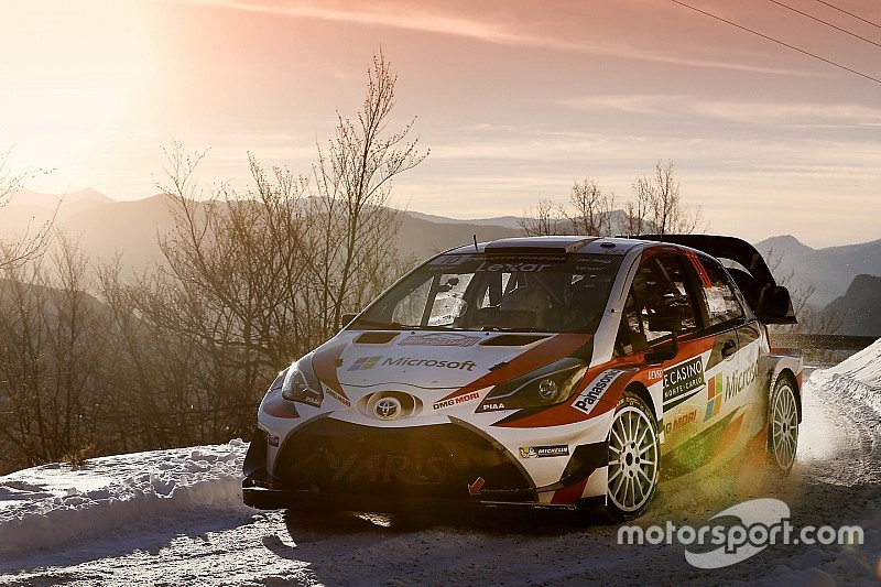 【WRC】開幕戦Day3トヨタ:ラトバラ総合3番手で明日最終日に挑む