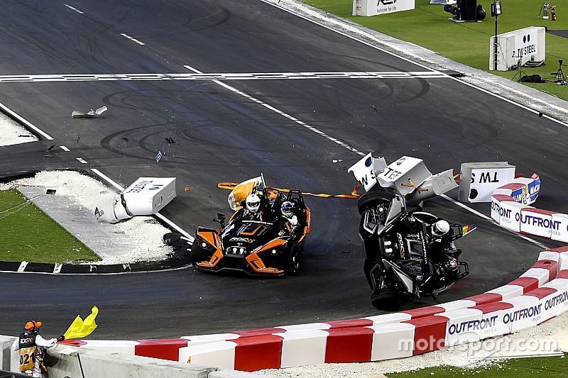 VIDEO: Wehrlein sale ileso de un dramático accidente
