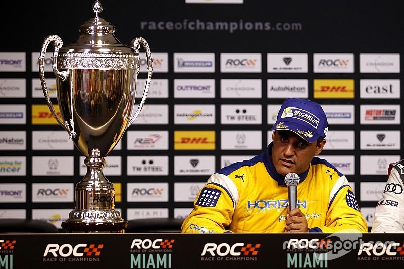 Így örült Montoya a győzelmének Miamiban: ROC