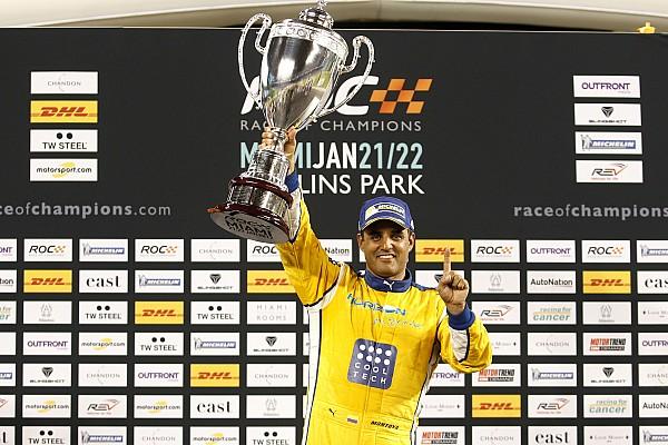 Algemeen Race of Champions: Montoya wint bij eerste deelname