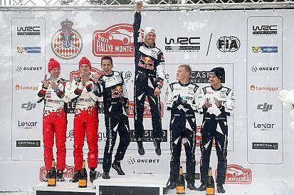 【WRC】モンテカルロ最終日:オジェ優勝。トヨタ復帰初戦で2位