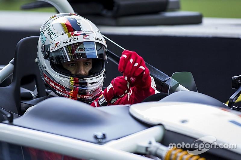 """Vettel: """"Mind imádnánk, ha Schumacher itt lehetne most"""""""