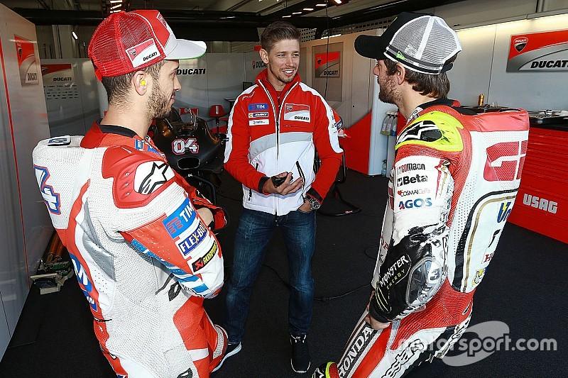 "Stoner, un ""avantage compétitif"" pour Ducati selon Ciabatti"