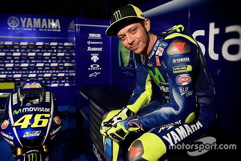 """Pour Rossi, la nouvelle Yamaha a """"un très bon potentiel"""""""