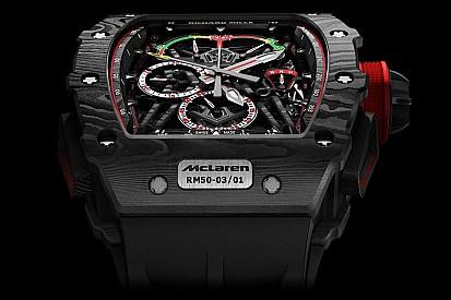 McLaren RM 50-03, el reloj más ligero del mundo