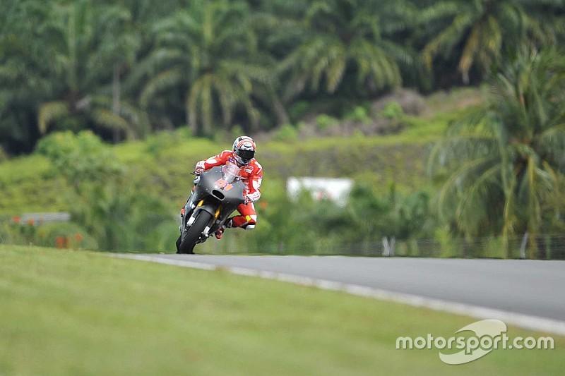 Ducati estreia em 2017 com teste privado em Sepang