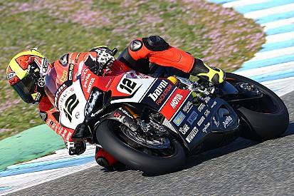A Jerez il team Barni ha lavorato su nuove componenti per la Ducati 2017