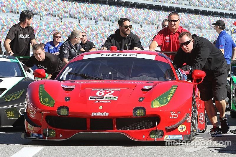 Tre Ferrari 488 per dare la caccia alla vittoria della 24 Ore di Daytona