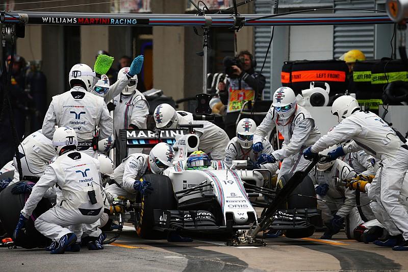 Le défi des arrêts au stand en F1 en 2017
