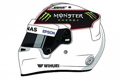 El casco de Hamilton será diseñado por los aficionados