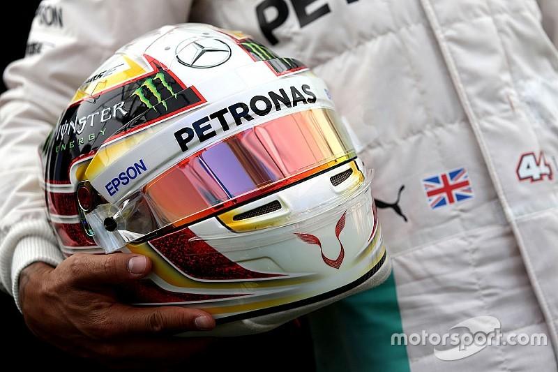 汉密尔顿向车迷征集2017头盔设计