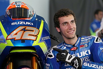 """Débuter avec Suzuki, """"une pression positive"""" pour Álex Rins"""