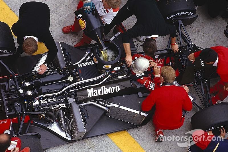 Así eran los test invernales de F1 hace 40 años