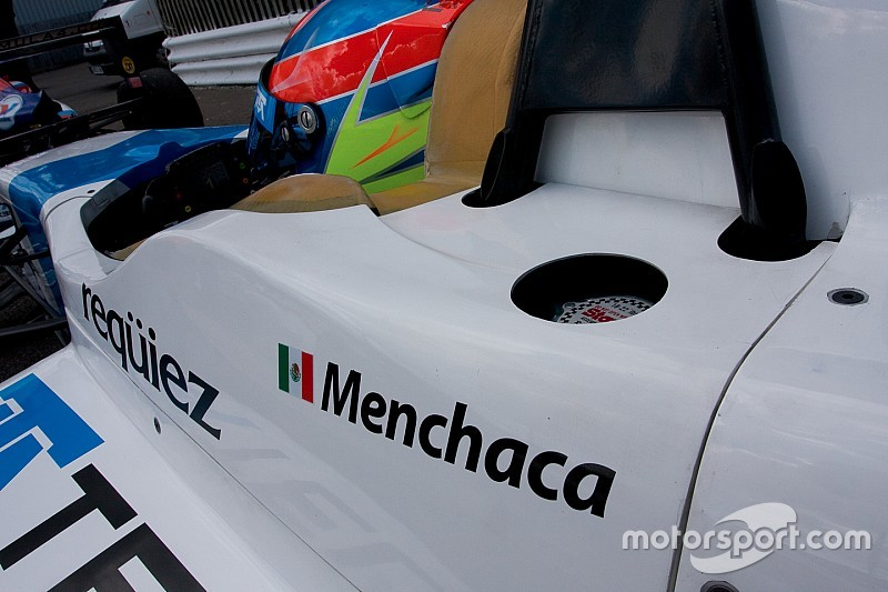 Menchaca completes all-Mexican Fortec F3.5 line-up
