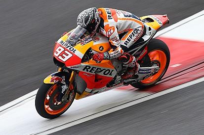 Маркес пожаловался на старые проблемы с новым мотоциклом