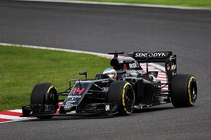 【F1】アロンソ「2017年はホンダではなくマクラーレンのエアロ次第」