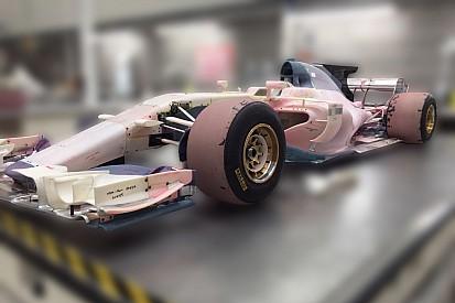 Nuevas fotos del Manor dan pistas de cómo son los F1 de 2017