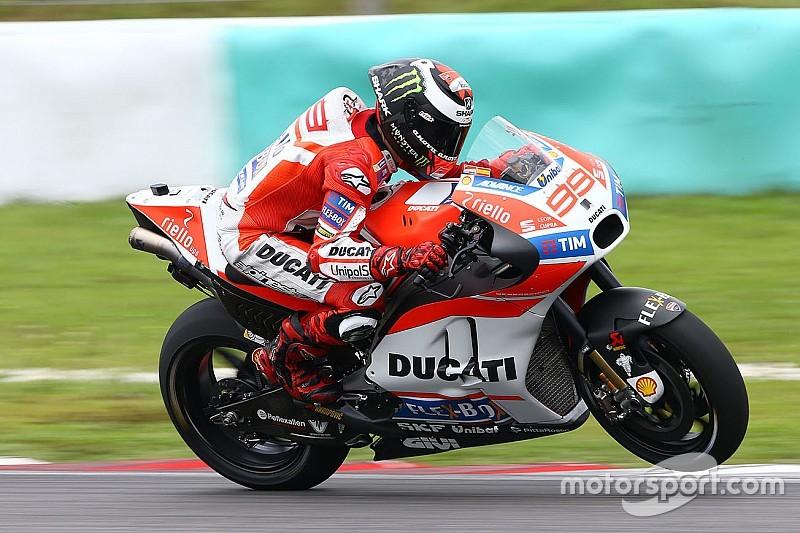 Fotogallery: l'ultima giornata dei test di Sepang della MotoGP