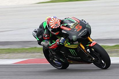 """Zarco """"comprend mieux"""" sa moto grâce aux pneus pluie"""
