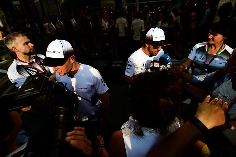 【F1】バンドーン「アロンソに勝つことだけ集中するのは間違い」