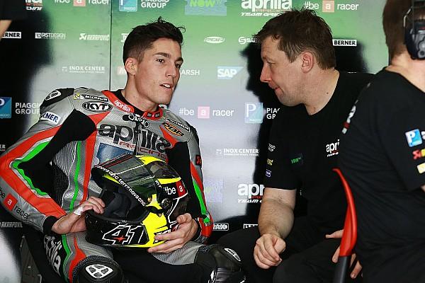 """Aleix Espargaró: """"Estoy contento, en una carrera terminaríamos a 12 segundos"""""""