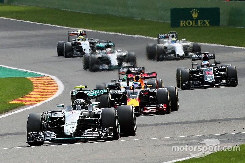 Des F1 encore plus lourdes que prévu en 2017
