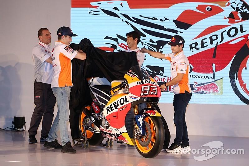 Repsol Honda présente sa moto 2017