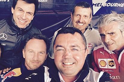 Los selfies solidarios de la Fórmula 1