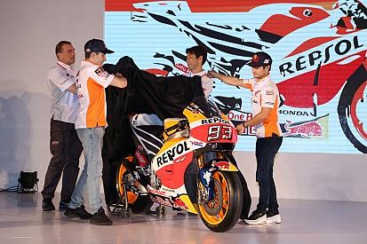 Foto's: De nieuwe Repsol Honda MotoGP