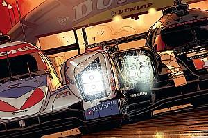 24 heures du Mans Actualités Vaillante au Mans, comme une rébellion dans l'air