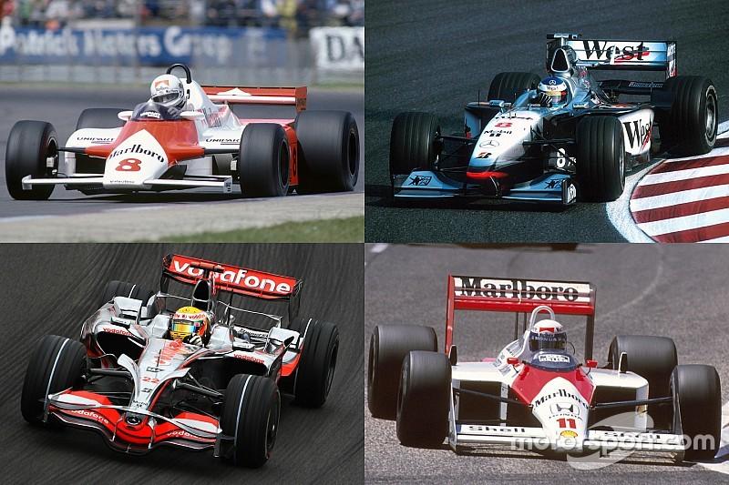Galería: del McLaren MP4/1 al MP4-31