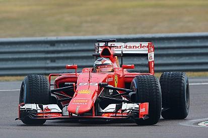 Foto's: Giovinazzi en Raikkonen testen met SF15-T op Fiorano