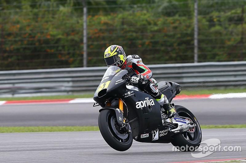 【MotoGP】エスパルガロ「アプリリアはもっと速くなる」