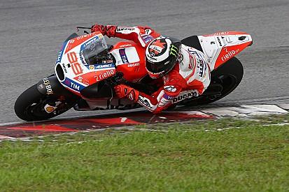 """【MotoGP】適応に苦戦中のロレンソ、""""親指""""ブレーキシステムをテスト"""