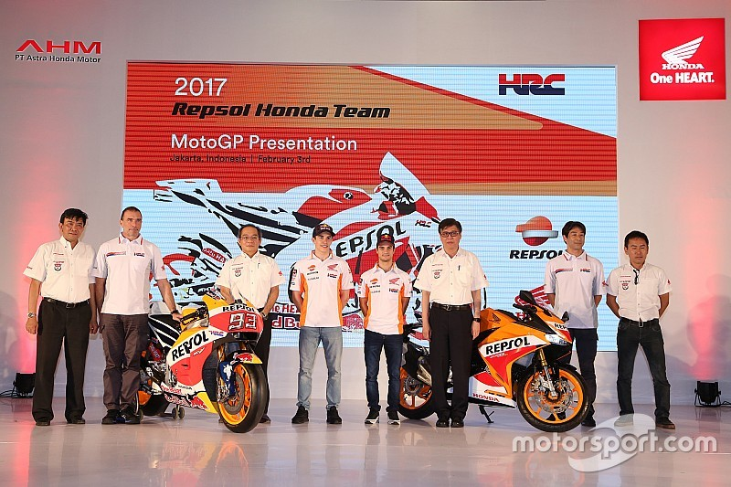 【MotoGP】レプソル・ホンダ2017年体制発表。タイトル防衛を誓う