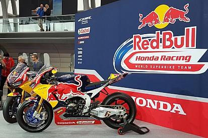 Honda apre il suo nuovo corso in SBK con la CBR SP2 e Red Bull