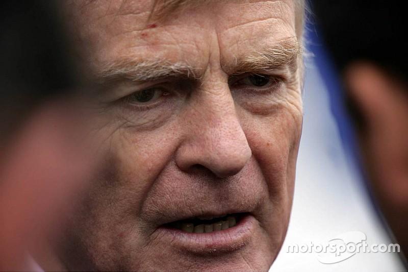 【F1】元FIA会長モズレー「ルール変更がF1を悪くするかも」と危惧