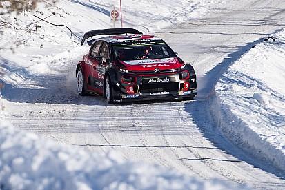 【WRC】ラリースウェーデン前にミークがテスト中に横転。損傷はなし