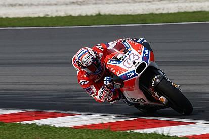 Dovizioso: Hilangnya winglet membantu Ducati saat menikung