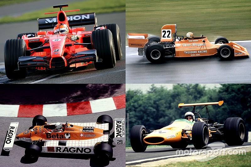 Galería: cuando los Fórmula 1 se tiñen de naranja