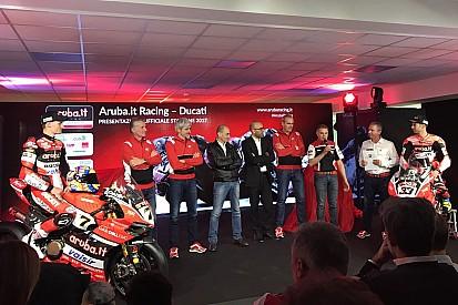 Ducati: parte la caccia al titolo SBK 2017 con Davies e Melandri