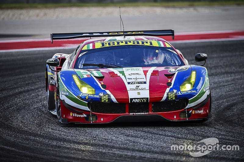 Molina y De Vries son los principales candidatos para Ferrari en el WEC