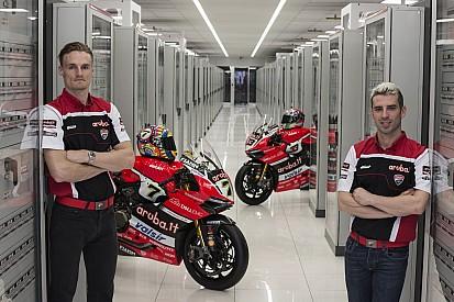 Ducati presenta su equipo del WorldSBK con Davies y Melandri