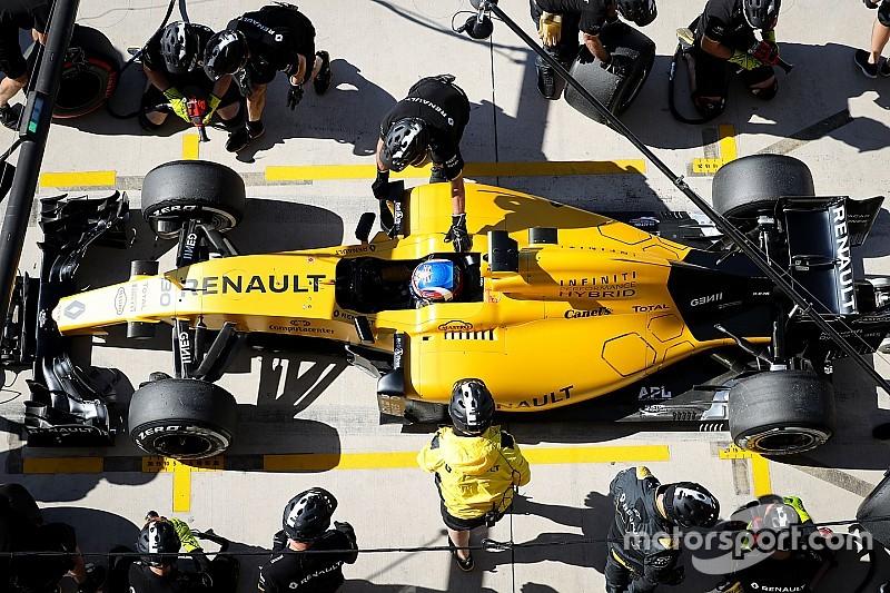 """Palmer: """"Cette année, tout est estampillé Renault"""""""