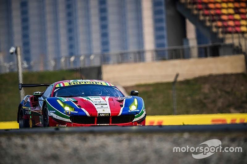 【WEC】フェラーリ、ジャンマリア・ブルーニの後任をテスト