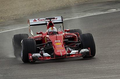 Beim Reifentest für Pirelli: Sebastian Vettel mit Unfall im F1-Ferrari