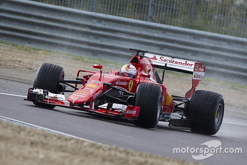 Accident de Vettel lors des essais Pirelli à Fiorano